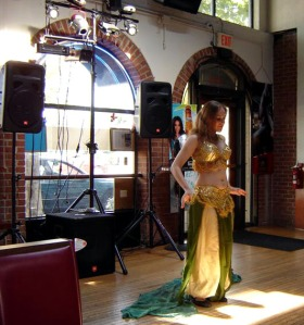 Ananke performing at hafla