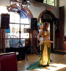 Ananke performing at hafla