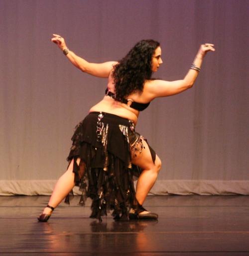 Khiyatta at the Moment's of Magic show